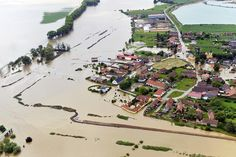4 Jun A flooded village 20 miles north of Prague in the Czech Republic