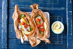 Ryba pieczona w pergaminie Recipe Images, Hot Dogs, Mexican, Ethnic Recipes, Food, Christmas, Pies, Xmas, Essen