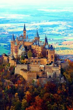 Hohenzollern Castle, Germany The ancestral seat of the Imperial House of Hohenzollern and one of the most visited castles in Germany Beautiful Castles, Beautiful Buildings, Beautiful World, Fantasy Castle, Fairytale Castle, Germany Castles, Castle House, Medieval Castle, Jolie Photo