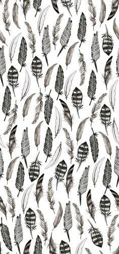 Find images and videos about black and white, wallpaper and pattern on We Heart It - the app to get lost in what you love. Et Wallpaper, Feather Wallpaper, Wallpaper For Your Phone, Pattern Wallpaper, Iphone Wallpaper, White Wallpaper, Cute Backgrounds, Cute Wallpapers, Wallpaper Backgrounds
