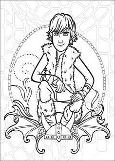How To Train Your Dragon Coloring Pages For Kids Printable Online 8