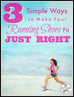 Running shoes too tight? Too loose? We're sharing simple tips for the perfect fit. | Fit Bottomed Girls