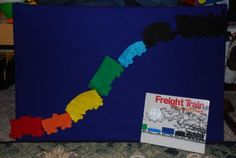 freight train-- working on colors