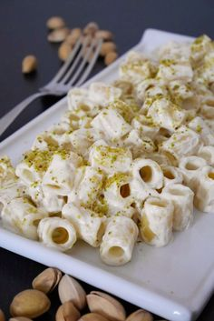 Pasta ricotta e pistacchio I Love Food, Good Food, Yummy Food, Italian Food Restaurant, Italy Restaurant, Restaurant Recipes, My Favorite Food, Favorite Recipes, Pasta Recipes