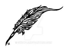 Celtic feather