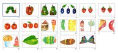 La oruga glotona en pdf