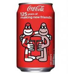 """Coca Cola 125th Anniversary"" by James Jarvis"