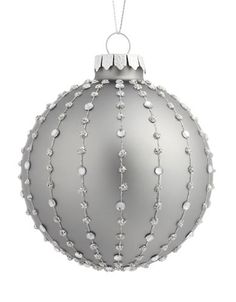 Brands | Holiday Trim Shop | Cage Beaded Ornament | Lord and Taylor