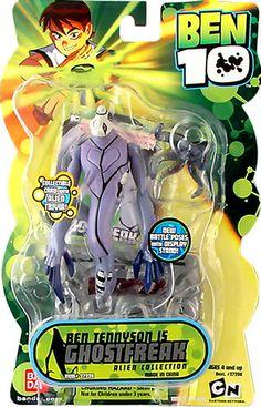 ben10 toys | Toy Store Inc.:: Ben 10 Ghostfreak Figure : Series 2