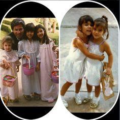 Kim Kardashian shared some old family photos for Easter