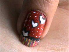 Nail Art Tutorial For Beginners - DIY nail designs for short nails & long nails- to do at home