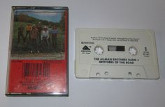 THE ALLMAN BROTHERS BAND BROTHERS OF THE ROAD CASSETTE!!!