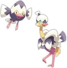 Name: Tobeno (Tobenai ( = Flightless )) Species: Hatchling Pokemon Type: Normal/Flying Ability: Quick Feet / St. Pokemon Fan Art, Cool Pokemon, Fanart Pokemon, Flying Type, Seven Deadly Sins Anime, Curious Creatures, Smiley, Cool Things To Make, Light In The Dark