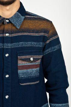 Edwin Loggerhead Shirt Stripe