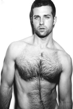 Not  a huge fan of chest hairs...but he's foiine