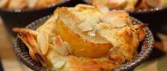 Muffin de pera y queso azul