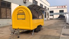 Get a food truck Be your boss Food Cart Design, Food Truck Design, Concession Trailer, Concession Food, Kombi Trailer, Trailer Build, Cargo Trailers, Camper Trailers, Travel Trailers