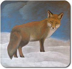 Waldorf ~ 4th grade ~ Human & Animal ~  Fox ~ chalkboard drawing ~ http://www.waldorf-ideen-pool.de/index.php?aid=1578