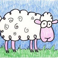 Cartoon Ovce- na stránce se více zajímavých námětů
