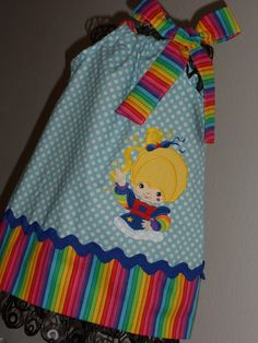 Hey, I found this really awesome Etsy listing at http://www.etsy.com/listing/153039532/beautiful-rainbow-brite-pillowcase-dress