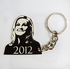 Leslie Knope 2012 Keychain