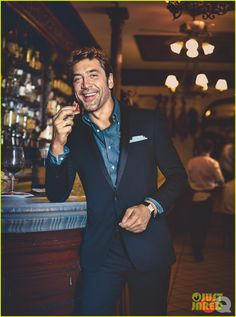 Javier Bardem Covers 'GQ' October Style Playbook