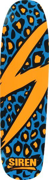 Siren Leopard Deck-8.25X32 Blue