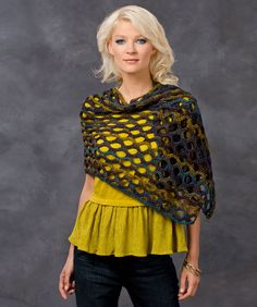 Open Wave Shawl