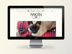 Web design for Rakán, pet shop! www.tiendarakan.com