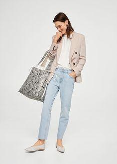 Straight Jeans Sayana aus Bio-Baumwolle