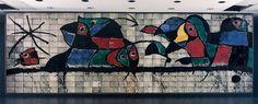 Joan Miro 1978 Mur pour IBM
