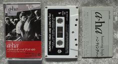 1985 aha Hunting High and Low Cassette Tape  Import by frommntoyou, $10.00