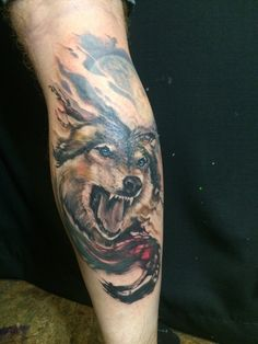 Wolf and moon - cash Scott - chapter one tattoo - San Diego #Tattoos https://t.co/tAZo4SMqgW Please Re-Pin It!