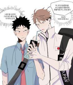Iwaoi, Oikawa, Haikyuu Funny, Avengers, Novels, Comics, Drawings, Anime, Rats