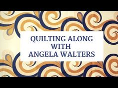 Learn about this brand new FREE video series from Angela Walters. She'll show you how easy it is to learn how to free-motion quilt feather designs!