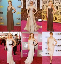 diana agron red carpet style