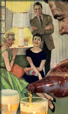 Vintage Beer ad.