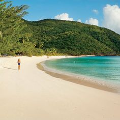 Guana's private-island pleasures include near-vacant coves. Coastalliving.com