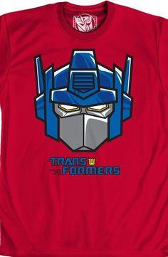 Optimus Prime Headmaster T-Shirt - Transformers T-Shirt
