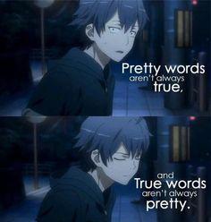 Schöne Wörter sind nicht immer wahr, und wahre Worte sind nicht immer schön...