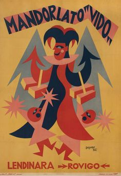 Fortunato Depero - Mandorlato Vido 1924