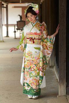 NO.091 正絹 京友禅 成人式の振袖販売、振袖レンタルの京都きもの友禅
