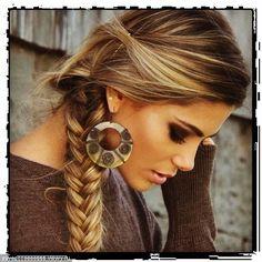 ♥ the color, braid & makeup