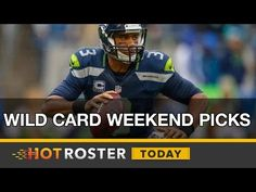 2017 Fantasy Football: Wild Card Weekend Picks w/ Corey Parson   HotRoster Today