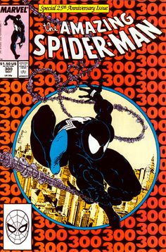 Amazing Spider-Man #300, Todd McFarlane. First appearance of Venom