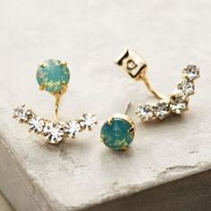 Adrias Anchored Earrings by Anthropologie Mint One Size Earrings