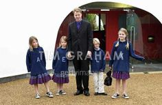 Earl Spencer and his children
