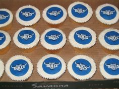 blue bulls rugby cupcakes - Google Search Rugby, Cupcakes, Party Ideas, Google Search, Desserts, Blue, Food, Deserts, Cupcake