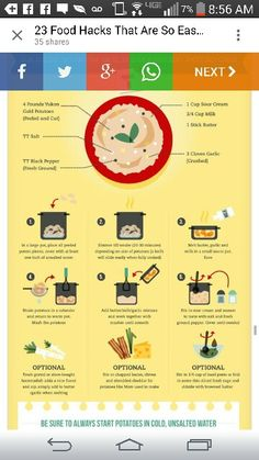 How to cook potatoes