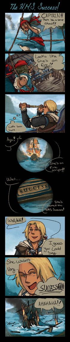 """HMS Success!"" by RennaLorie on DeviantArt.com."